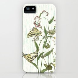 Cultivating my mind garden iPhone Case