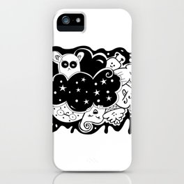 What? - It's Doodle baby! iPhone Case