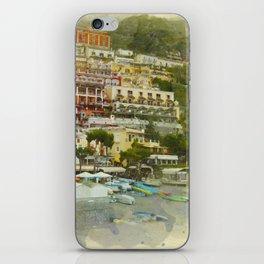 Positano Coastline iPhone Skin