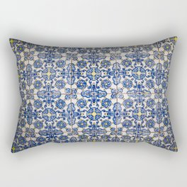 Old tiles pattern Rectangular Pillow