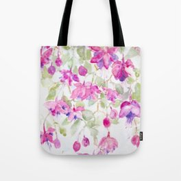 Summer Fuchsia Tote Bag