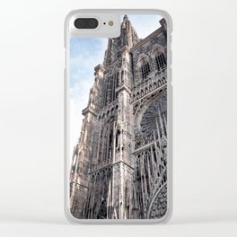 Gothic Style Wonder Clear iPhone Case