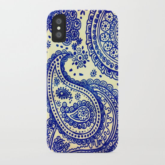 Paisley :) iPhone Case