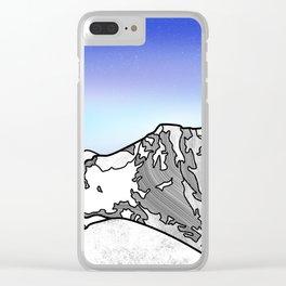 Ben Nevis Scotland Clear iPhone Case
