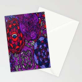Spooky Flowers Stationery Cards