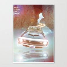 Flyin' Car II Canvas Print