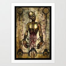Gut Your Zombie Art Print