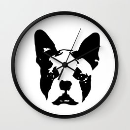 Boston Terrier Gifts Wall Clock