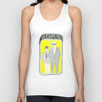 rushmore Tank Tops featuring Rushmore by Mexican Zebra