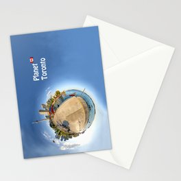 Planet Toronto Wall Paper Stationery Cards
