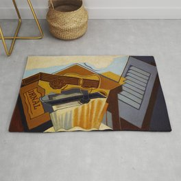 """Juan Gris """"Still Life with a White Cloud"""" Rug"""