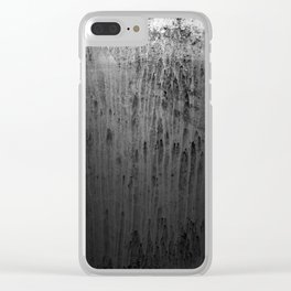 Old window at night Clear iPhone Case