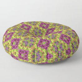 Flower Child Diamonds Floor Pillow