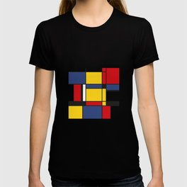 Downtown, Tribute to Mondrian T-shirt