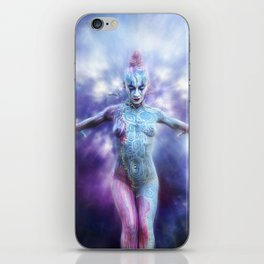 Body Painting iPhone Skin