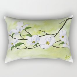 Dogwood in Spring Rectangular Pillow