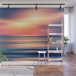Abstract Sunset II Wall Mural
