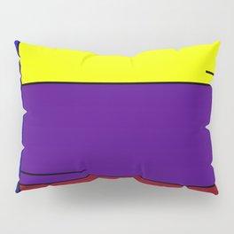 Colorful Line Design Pillow Sham