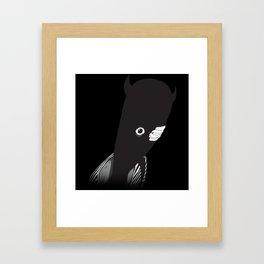 Calm Down Punpun Framed Art Print