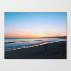 sands sunset Canvas Print