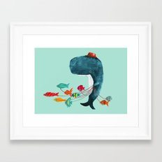 My Pet Fish Framed Art Print