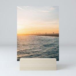 Seal Beach Sunset 02 Mini Art Print