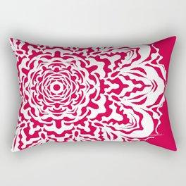 Red Bucket of Flakes Rectangular Pillow
