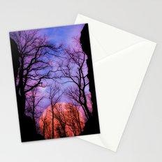 Moonrise Canyon Stationery Cards