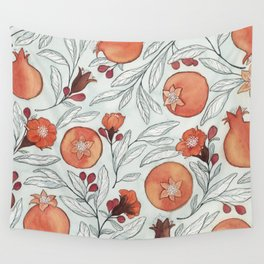 Young Pomegranates Wall Tapestry