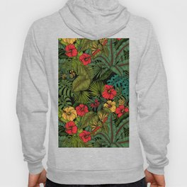 Tropical garden Hoody