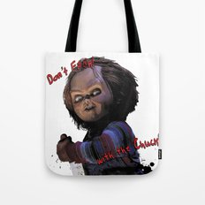 Charles Lee Ray: Monster Madness Series 3 Tote Bag