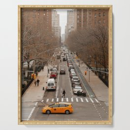 Travel Photography: New York City, Cross Walk Serving Tray