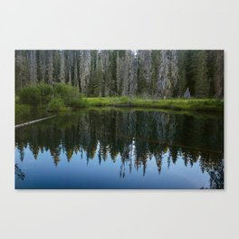 Little Crater Lake 1 Canvas Print