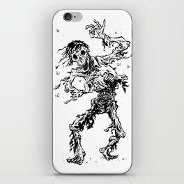 Shambling zombie iPhone Skin