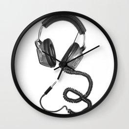 Headphone Culture Wall Clock