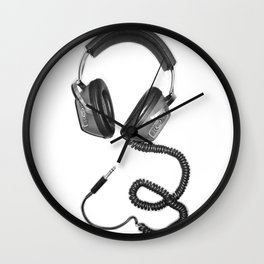 Headphone Culture Wall Clock