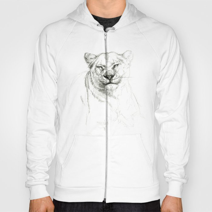 Lioness emotions SK046 Hoody