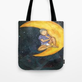 Son and the Moon Tote Bag