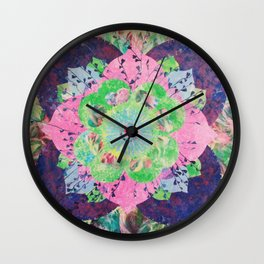 FlowerWaltz06 Wall Clock