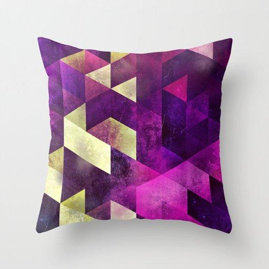 fykk yrly Throw Pillow