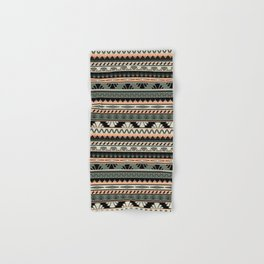 art deco stripes - salmon Hand & Bath Towel
