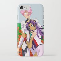 utena iPhone & iPod Cases featuring The Rose by Alice Scythe