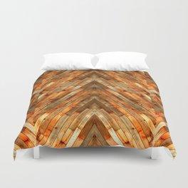 Wood Plank Texture Duvet Cover