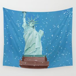The Statue of Liberty Wall Tapestry