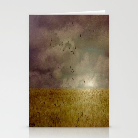 When we walked in fields of gold Stationery Cards