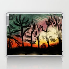 Trees at Sunset Laptop & iPad Skin