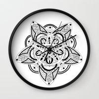 pentagram Wall Clocks featuring Pentagram by Captain Dibbzy