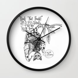 You Are Dashing Wall Clock