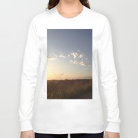 hiking Long Sleeve T-shirts featuring Hiking Whittier by Uptilted Sparrow Photography