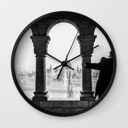 Looking Through. Wall Clock
